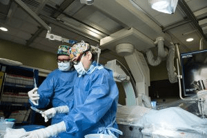 Cath Lab with Dr. Van Crisco