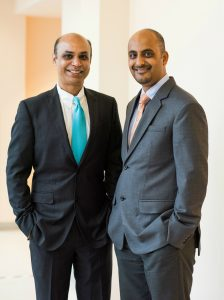 Drs Dinesh Pubbi and Neil Sanghvi