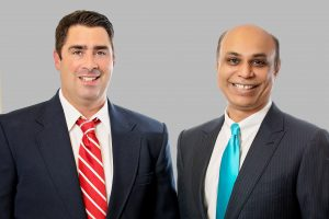 Dr. Vicent Caracciolo and Dr. Dinesh Pubbi